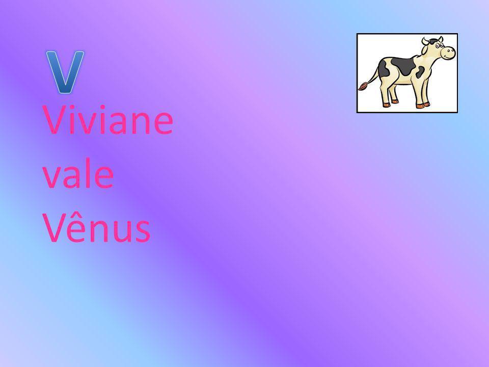 Viviane vale Vênus