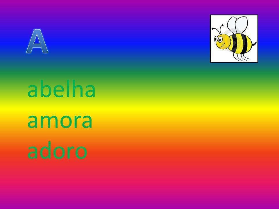 abelha amora adoro