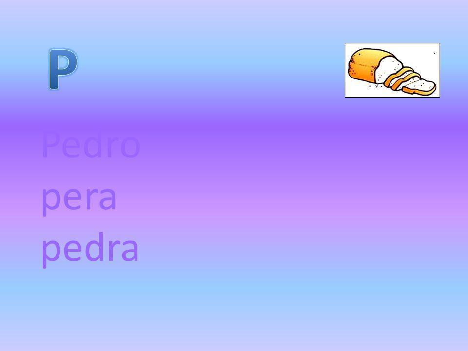 Pedro pera pedra