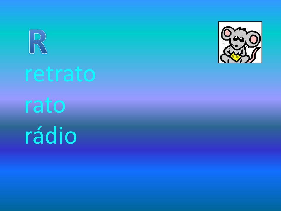 retrato rato rádio