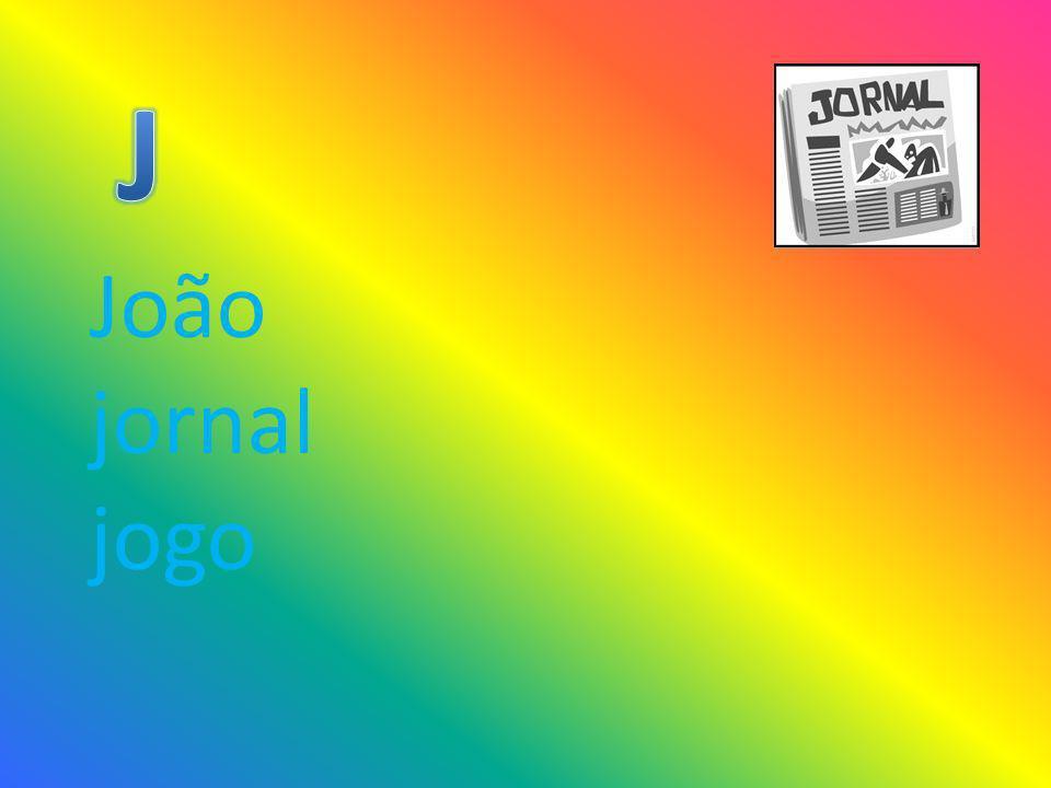 João jornal jogo