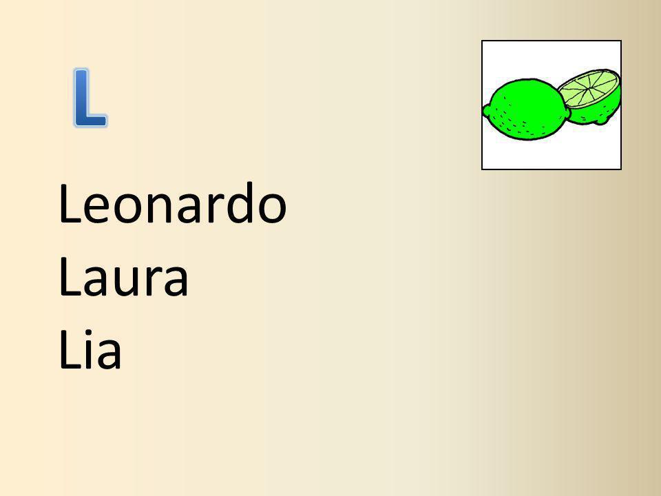 Leonardo Laura Lia