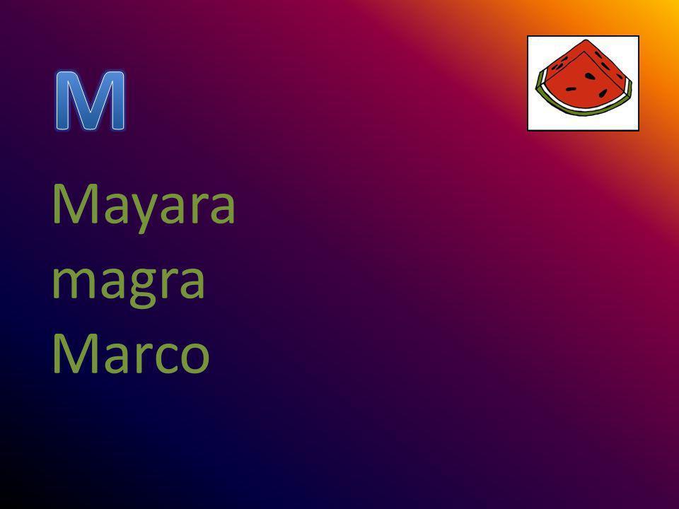 Mayara magra Marco