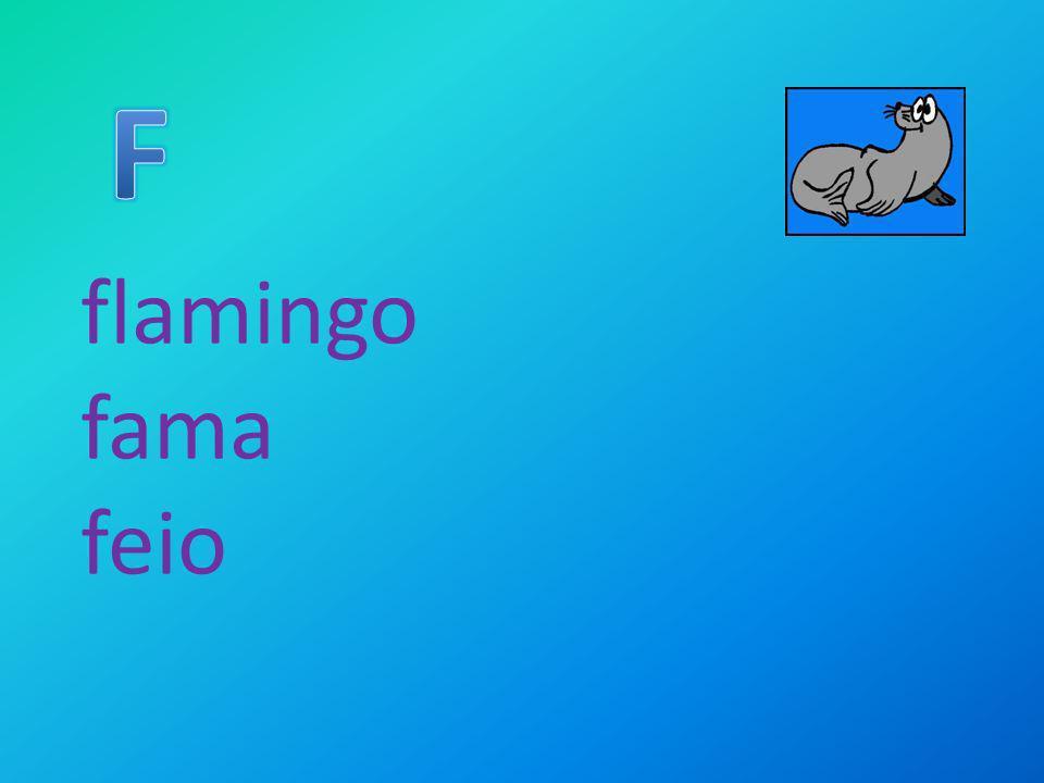 flamingo fama feio