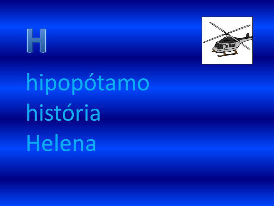 hipopótamo história Helena