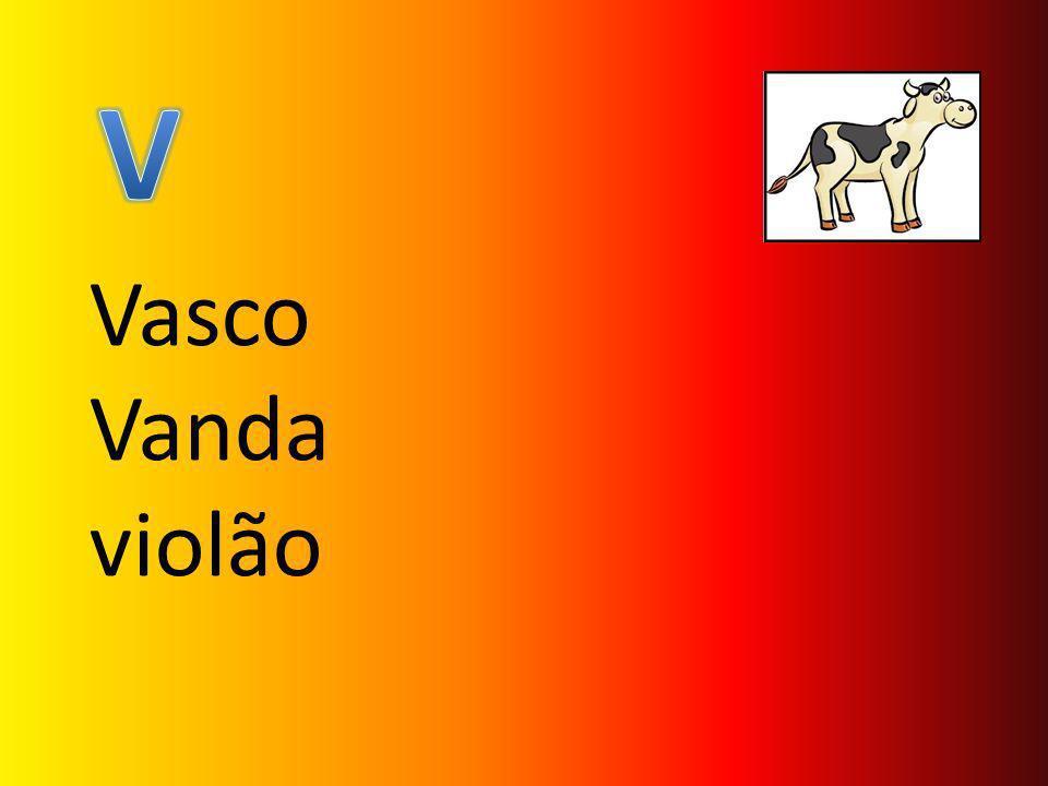Vasco Vanda violão