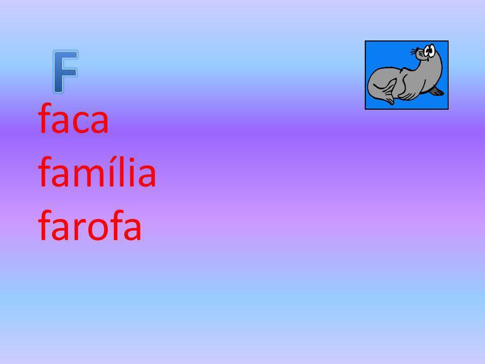 faca família farofa