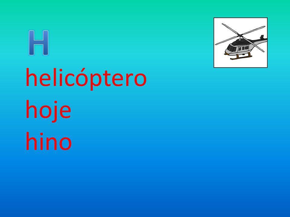 helicóptero hoje hino