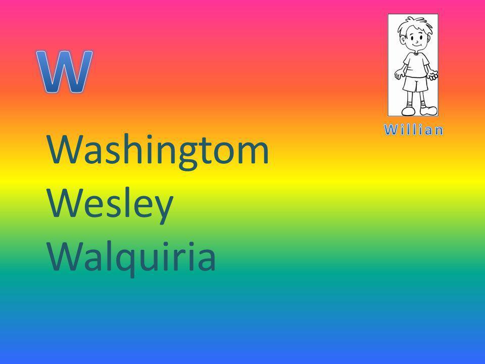 Washingtom Wesley Walquiria