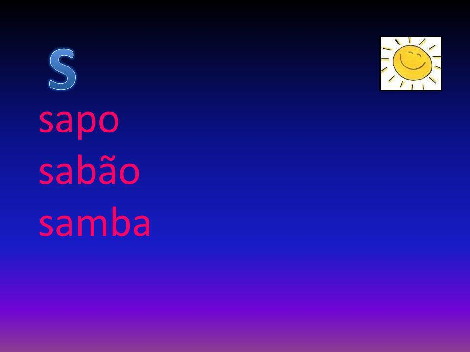 sapo sabão samba