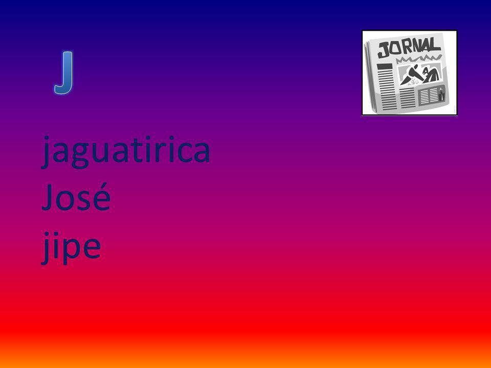 jaguatirica José jipe