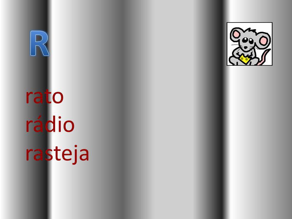 rato rádio rasteja