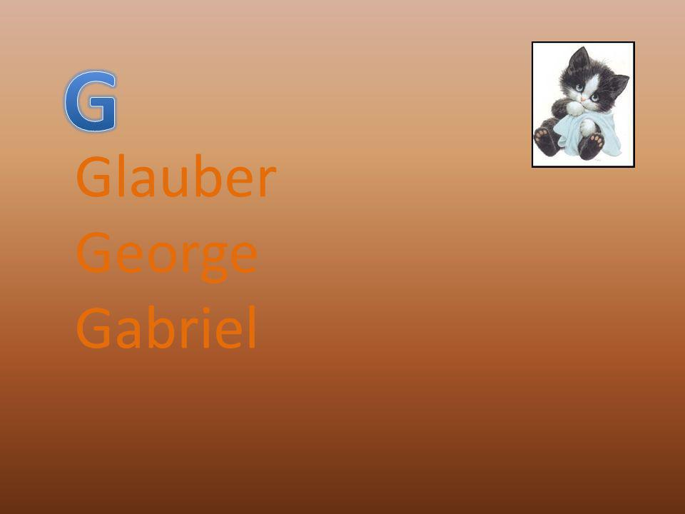 Glauber George Gabriel