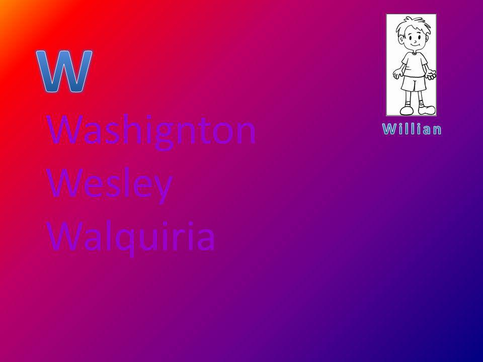 Washignton Wesley Walquiria
