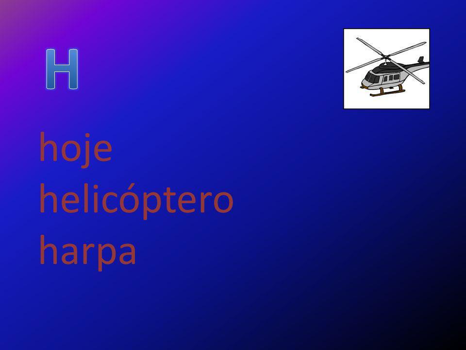 hoje helicóptero harpa