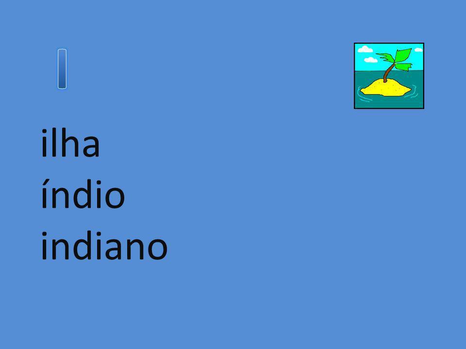 ilha índio indiano