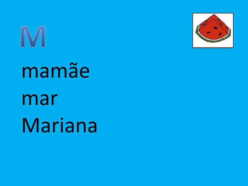 mamãe mar Mariana