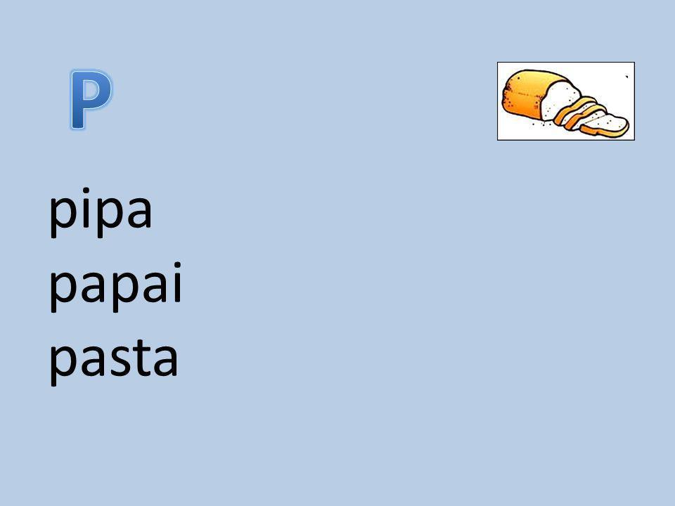 pipa papai pasta