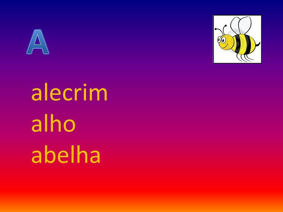 alecrim alho abelha