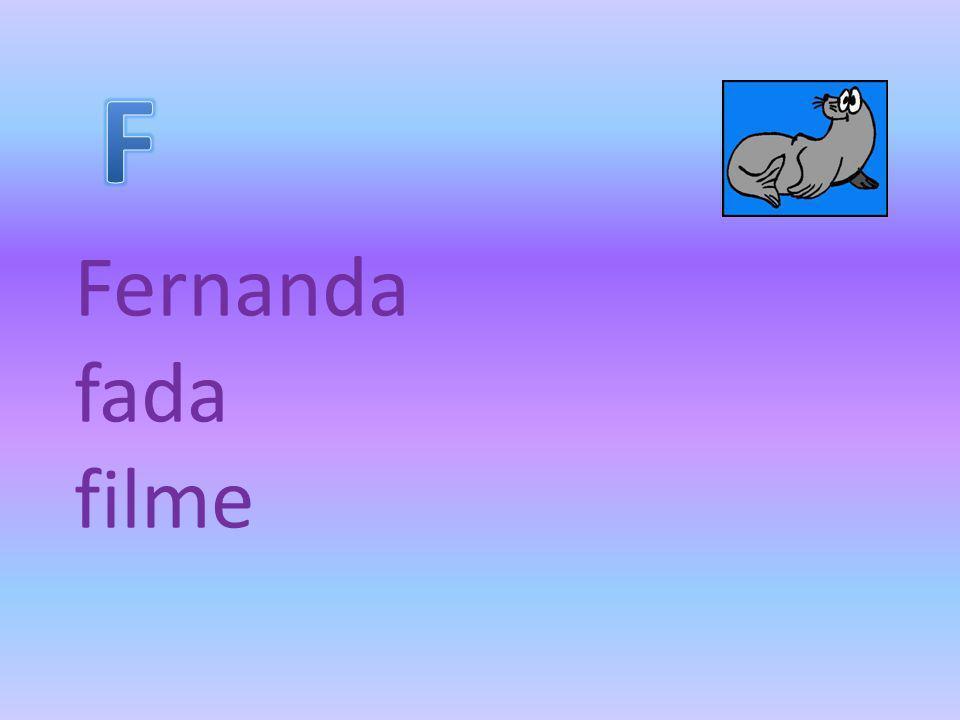 Fernanda fada filme