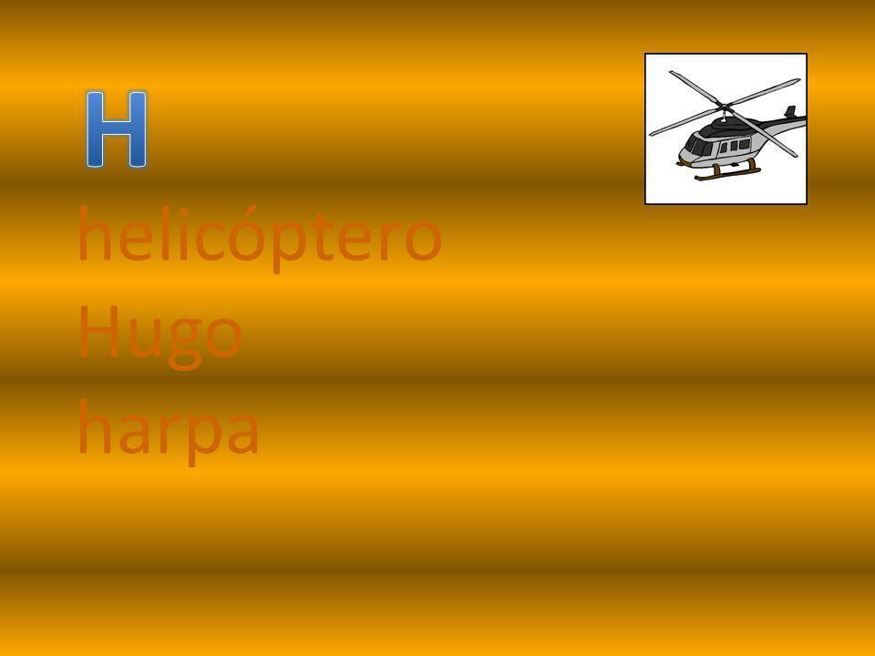 helicóptero Hugo harpa