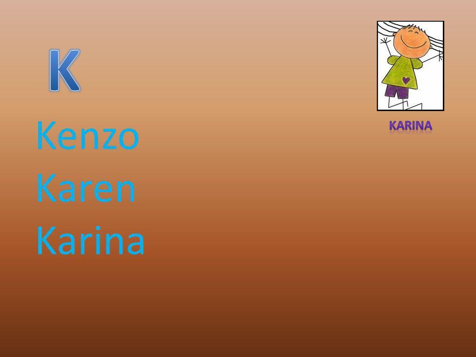 Kenzo Karen Karina