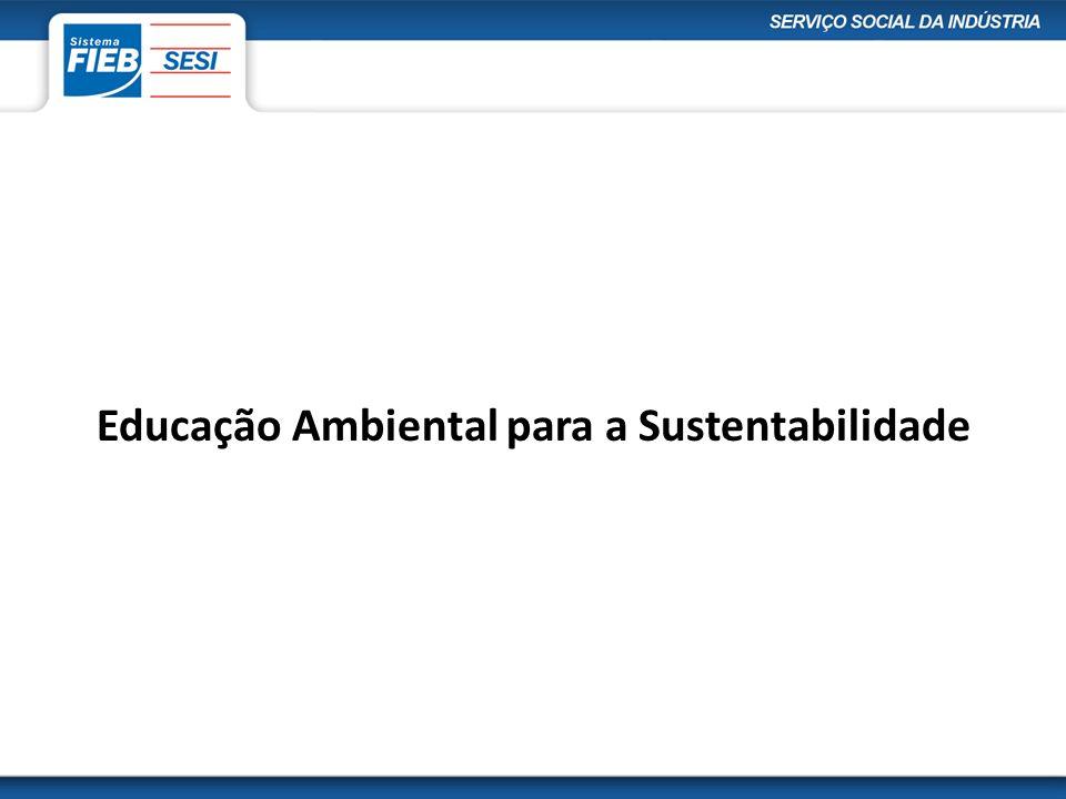 Educação Ambiental para a Sustentabilidade