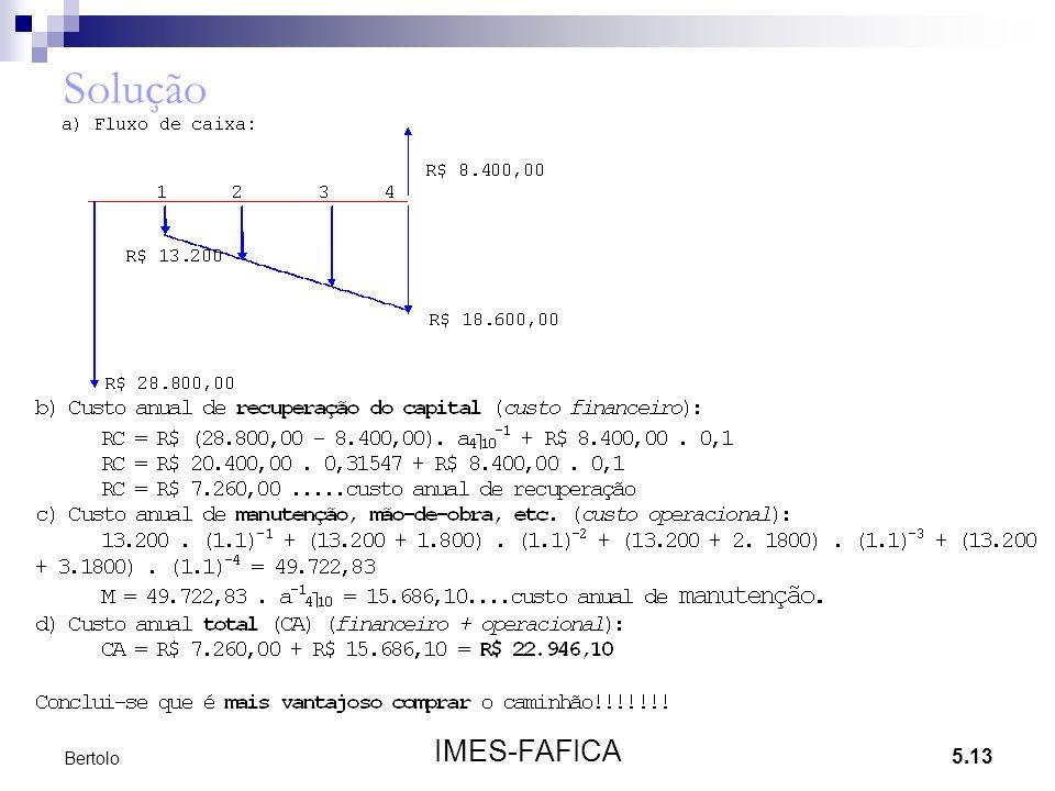 5.13 IMES-FAFICA Bertolo Solução