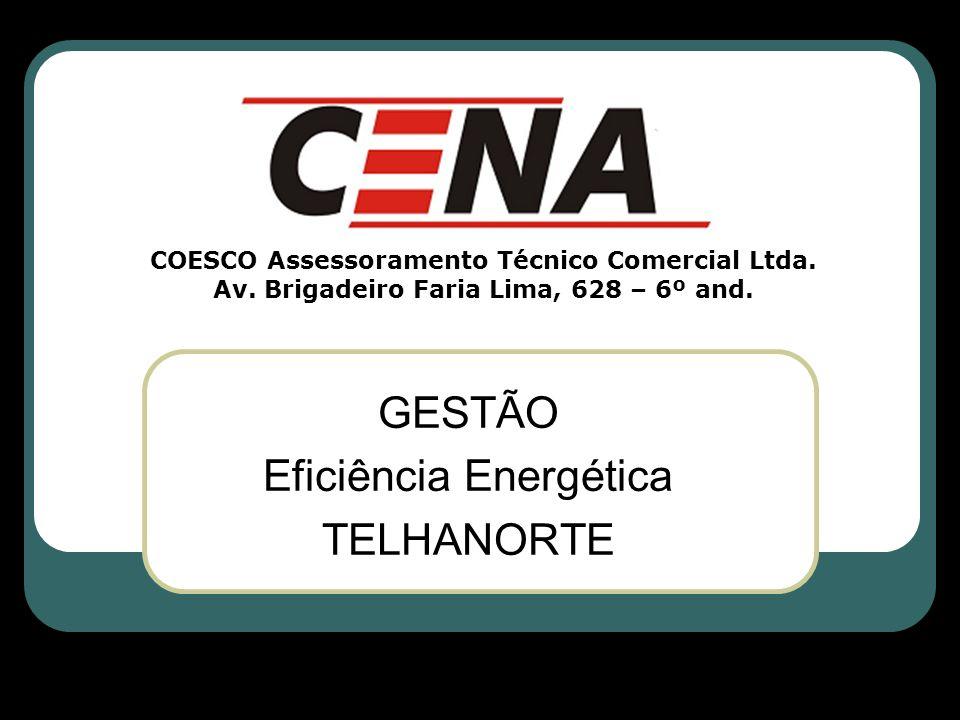E) Gestão da Energia 1.Acompanhar as alterações no padrão de consumo; 2.