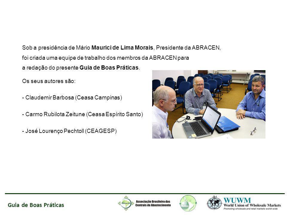Guia de Boas Práticas Sob a presidência de Mário Maurici de Lima Morais, Presidente da ABRACEN, foi criada uma equipe de trabalho dos membros da ABRAC