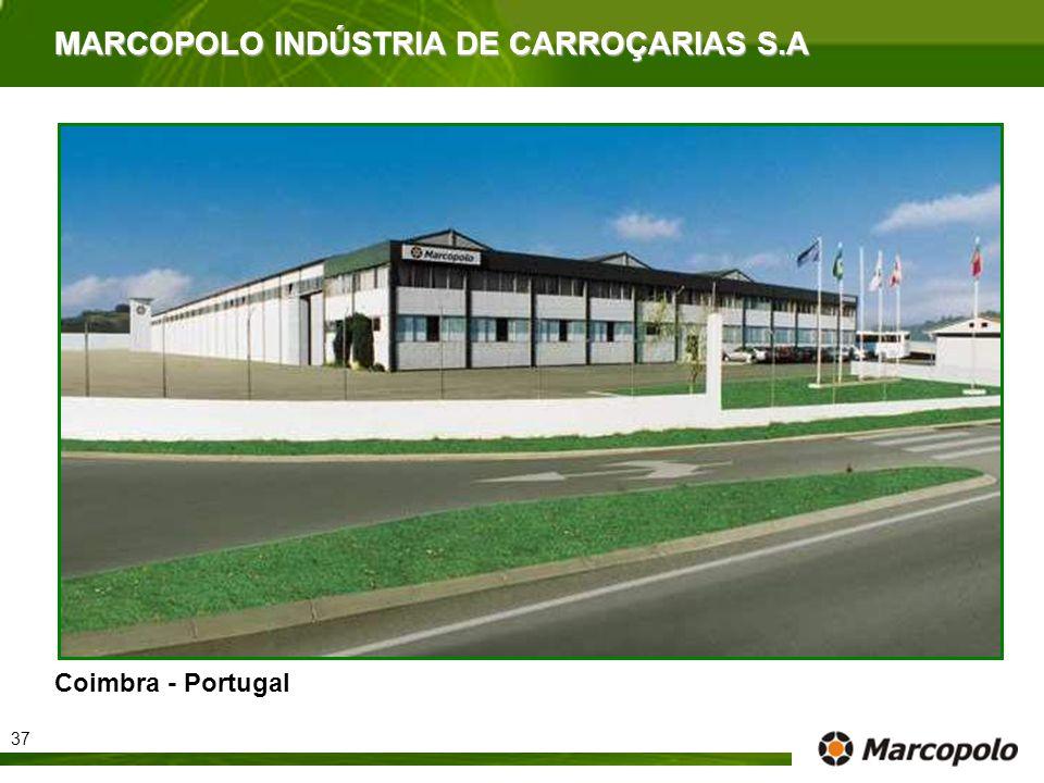 MARCOPOLO INDÚSTRIA DE CARROÇARIAS S.A Coimbra - Portugal 37
