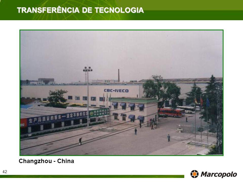 Changzhou - China TRANSFERÊNCIA DE TECNOLOGIA 42