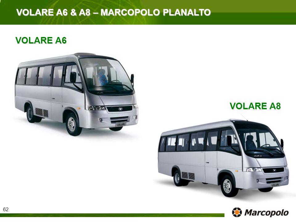 VOLARE A6 & A8 – MARCOPOLO PLANALTO VOLARE A6 VOLARE A8 62