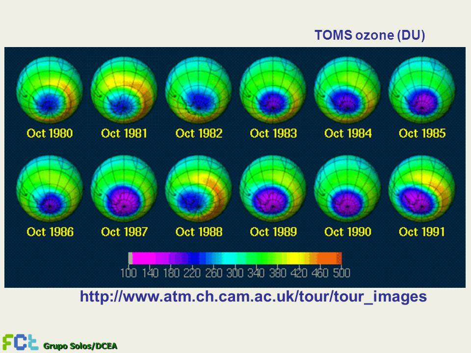 Grupo Solos/DCEA http://www.atm.ch.cam.ac.uk/tour/tour_images TOMS ozone (DU)