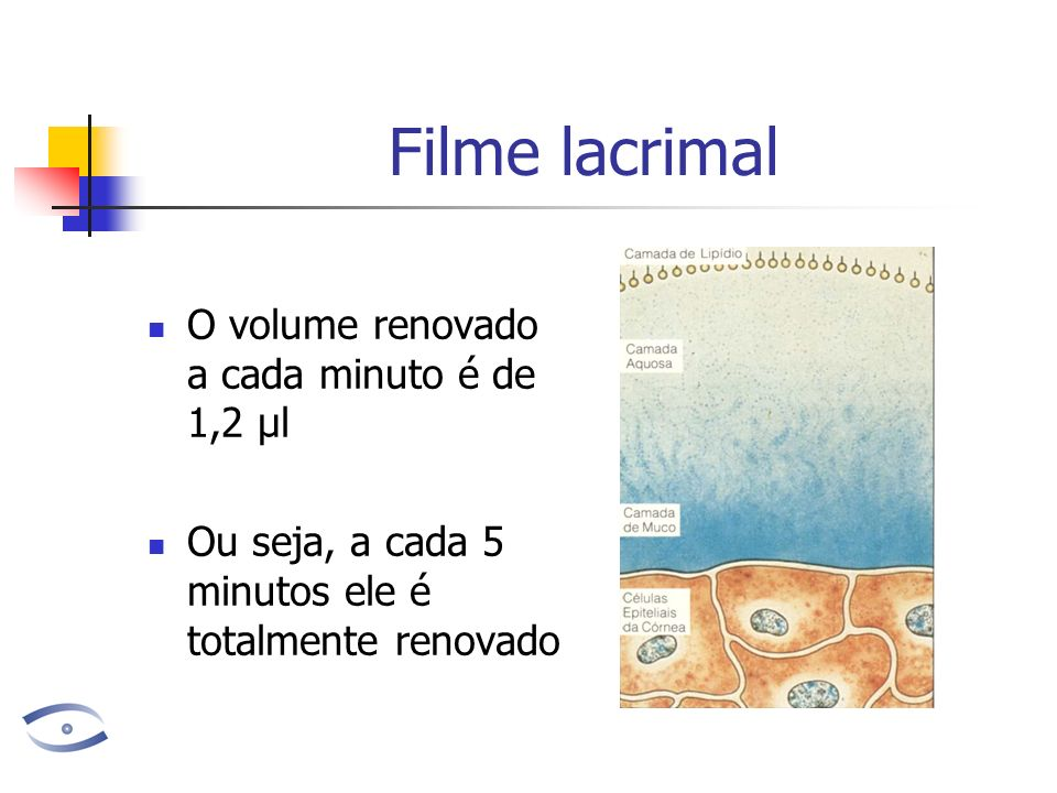 Resultados do Shirmer O volume de lagrimas varia com a idade.