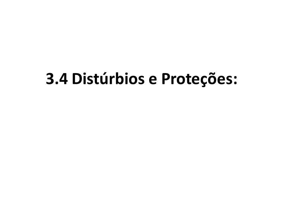 3.4 Distúrbios e Proteções: