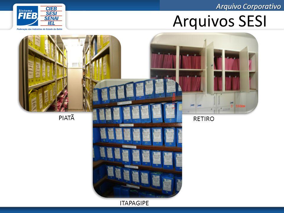 Arquivo Corporativo Arquivos SEDE SUPRIMENTOS RELAÇÕES COM PESSOAS CONTROLADORIA