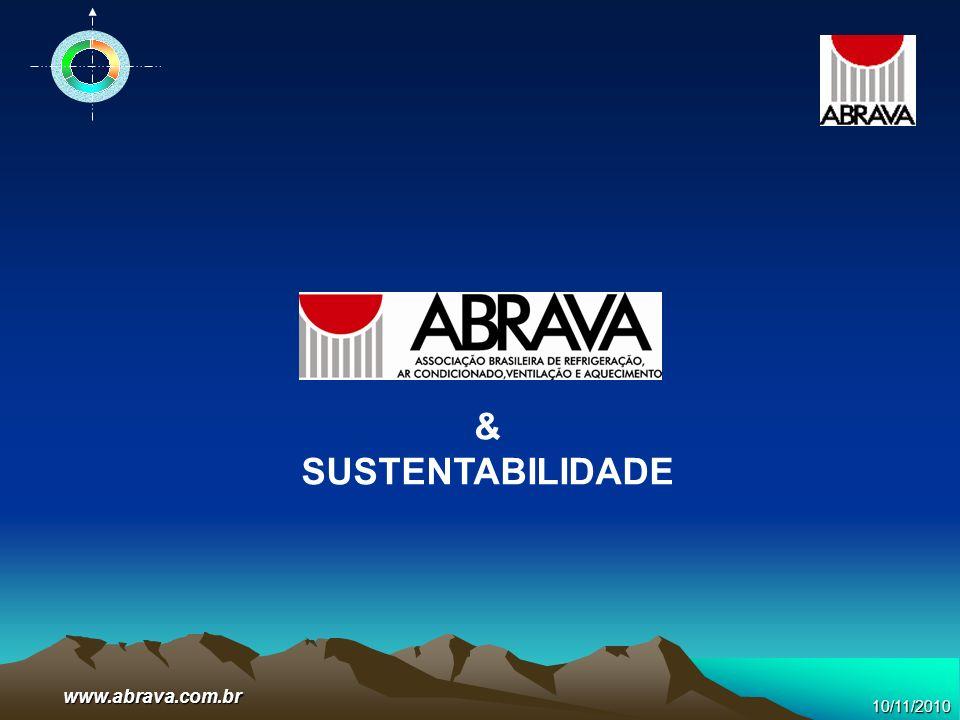 10/11/2010 www.abrava.com.br & SUSTENTABILIDADE
