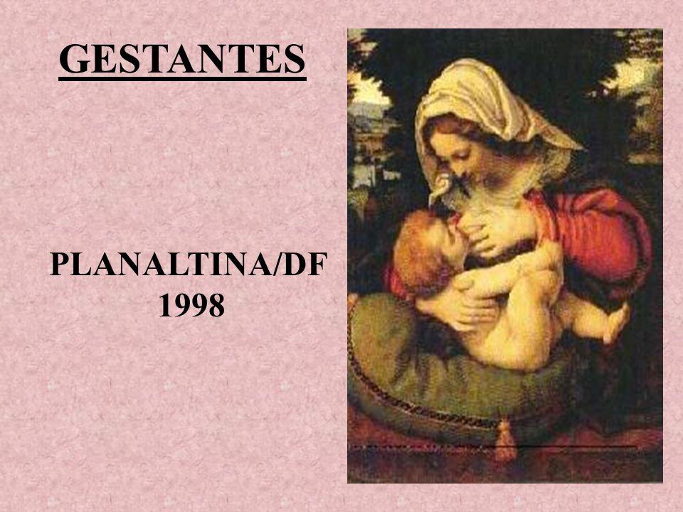 GESTANTES PLANALTINA/DF 1998