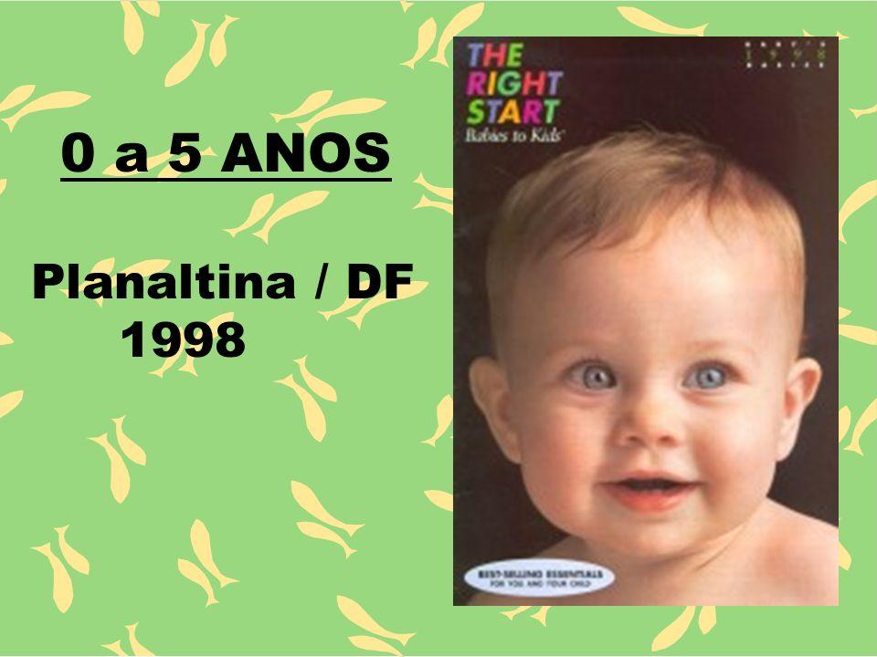 0 a 5 ANOS Planaltina / DF 1998