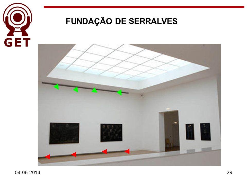FUNDAÇÃO DE SERRALVES 04-05-201429
