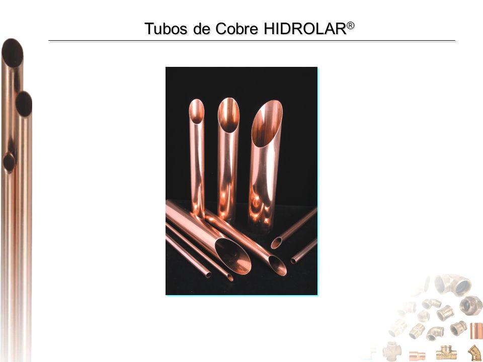 Tubos de Cobre HIDROLAR ®