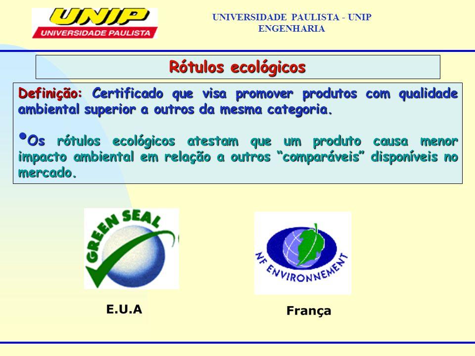 Definição: Certificado que visa promover produtos com qualidade ambiental superior a outros da mesma categoria. Os rótulos ecológicos atestam que um p