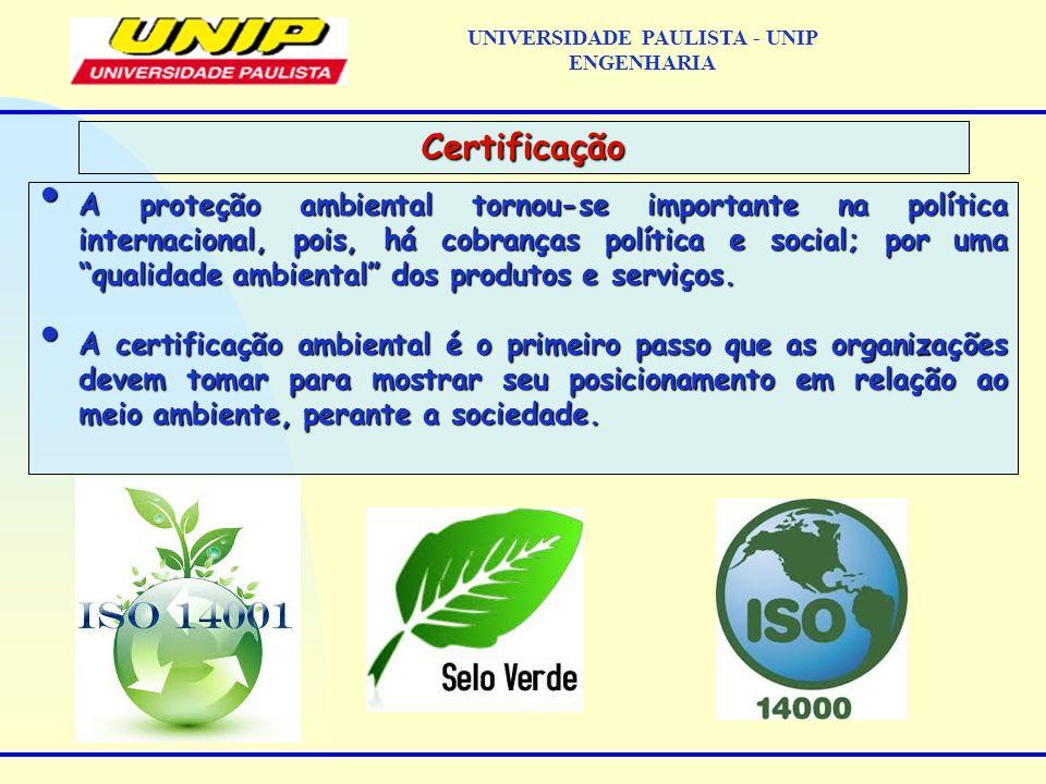 A proteção ambiental tornou-se importante na política internacional, pois, há cobranças política e social; por uma qualidade ambiental dos produtos e
