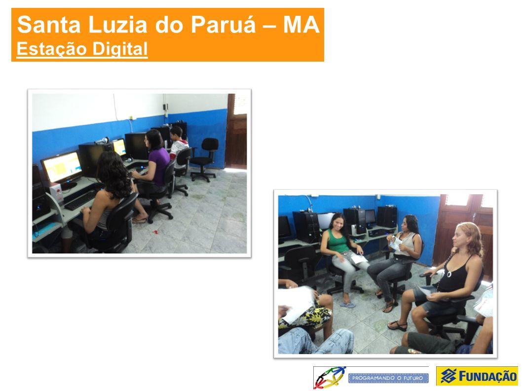 Santa Luzia do Paruá – MA Estação Digital