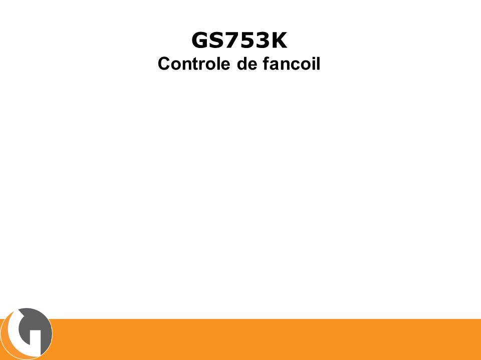 GS753K Controle de fancoil