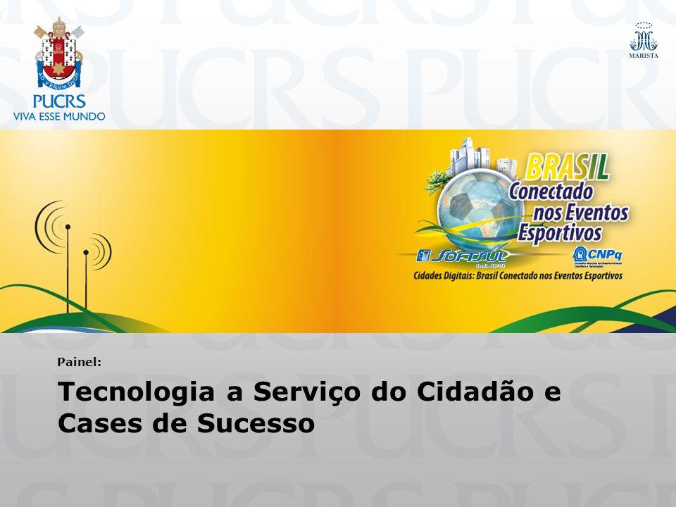 Cases PUCRS Indiretos Laboratório TELEBRÁS/TECNOPUCLaboratório TELEBRÁS/TECNOPUC CrowdSim: Simulação de MultidõesCrowdSim: Simulação de Multidões Sistema de controle de dopingSistema de controle de dopingDiretos Copa Inteligente - Serviços Móveis e Redes Sociais para o TuristaCopa Inteligente - Serviços Móveis e Redes Sociais para o Turista