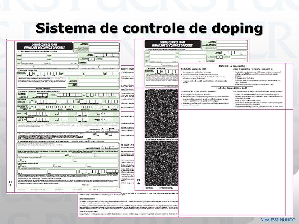 Sistema de controle de doping