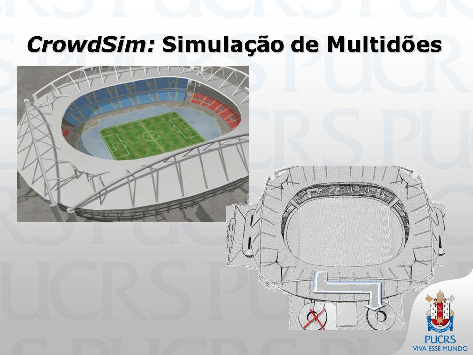CrowdSim: Simulação de Multidões