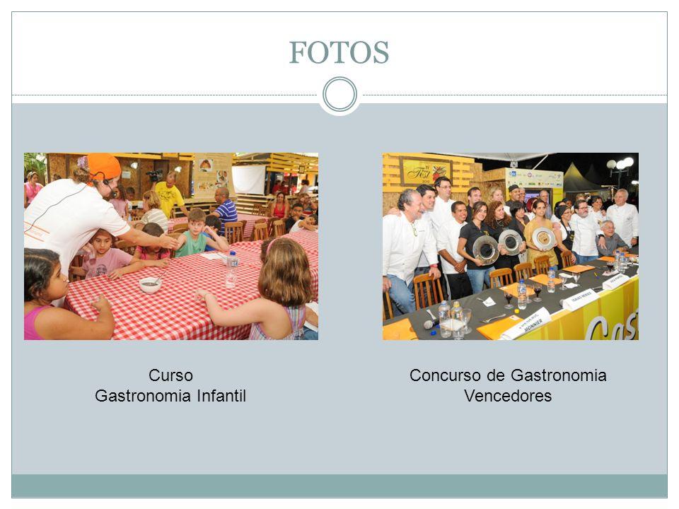 FOTOS Curso Gastronomia Infantil Concurso de Gastronomia Vencedores